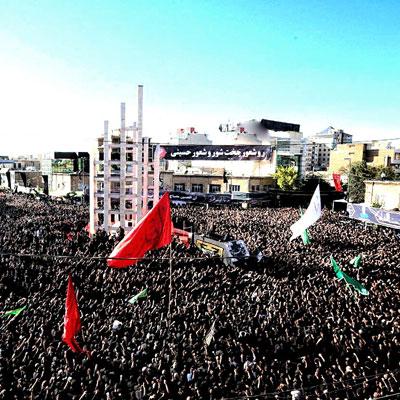 حسینه اعظم زنجان از مهمترین اماکن مذهبی شهر زنجان است که هر ساله در هشتمین روز ماه محرم دستهای بزرگ از آن به سمت امامزاده ابراهیم حرکت میکند.